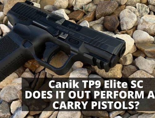 Best Value Handgun on the Market? TP9 Elite SC