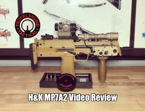 H&K MP7A2 Video Review