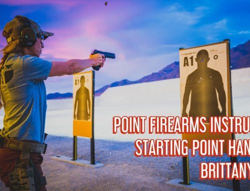 POINT Firearms Instruction | Starting Point Handgun | Brittany Mae
